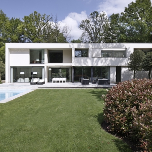 Architecture villa exclusive villa construction for Moderne villabouw