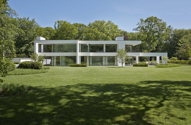 Architectuur villabouw vlassak verhulst exclusieve for Moderne villabouw