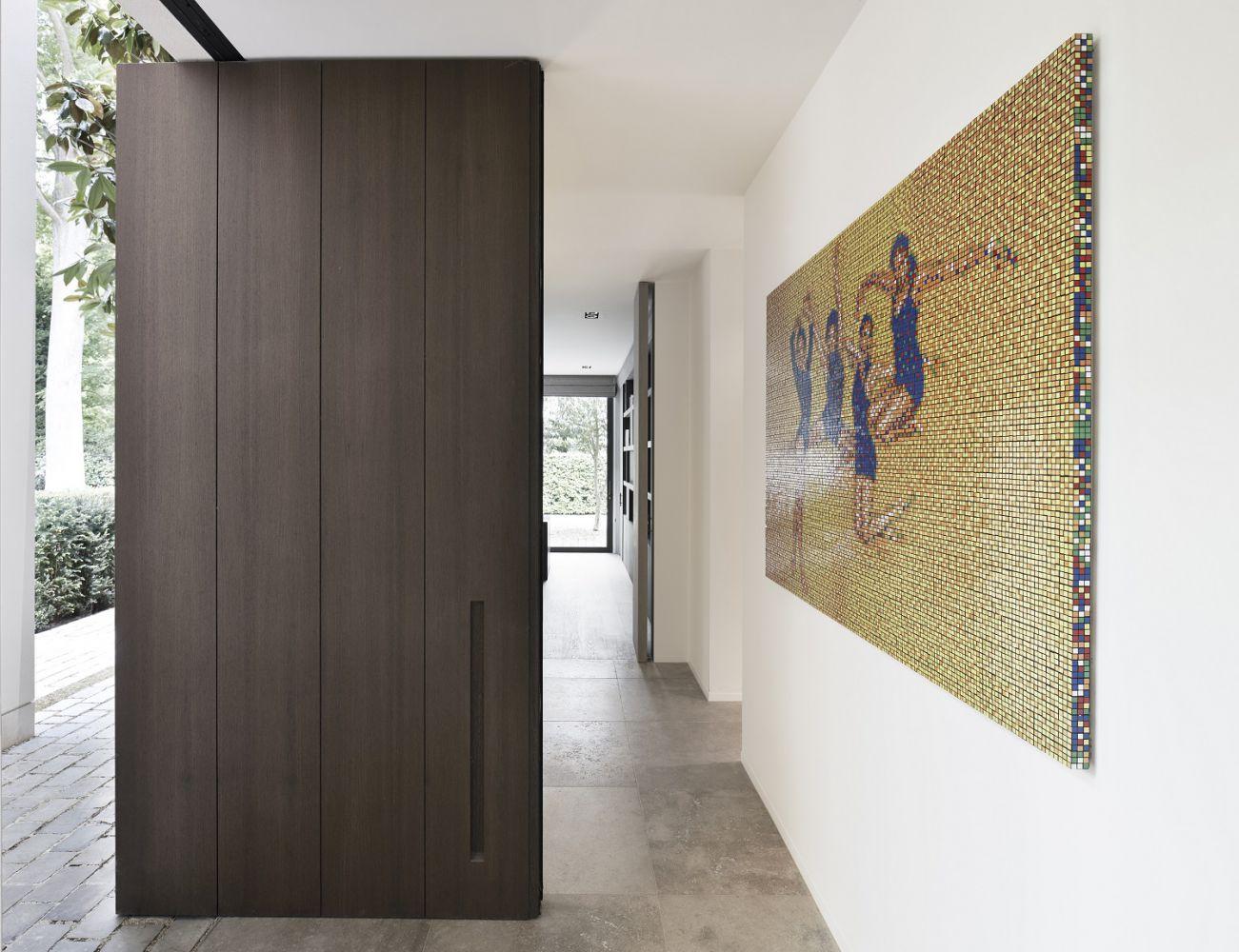 Moderne kunst woonkamer modern huis woonkamer royalty vrije